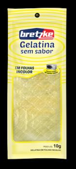 916b41cfa3 Gelatina em Folha Incolor 10g